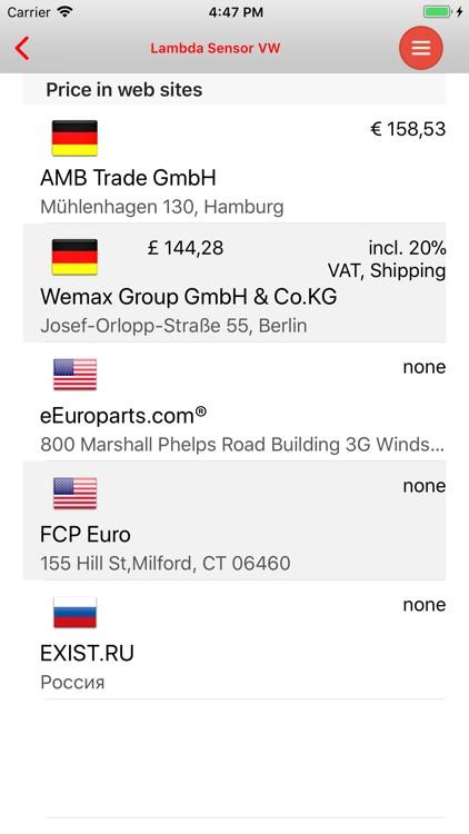 AutoParts VW Golf Plus screenshot-4