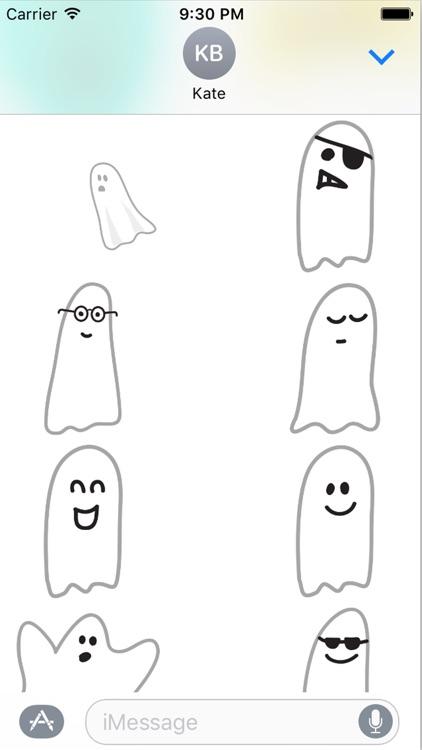 Spooky Smiles Sticker Pack screenshot-4