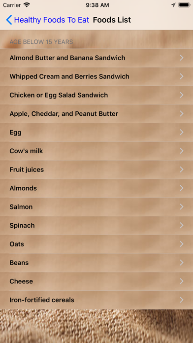 Healthy Foods To Eat screenshot two