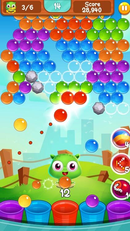 Puppy bubble pop puzzle