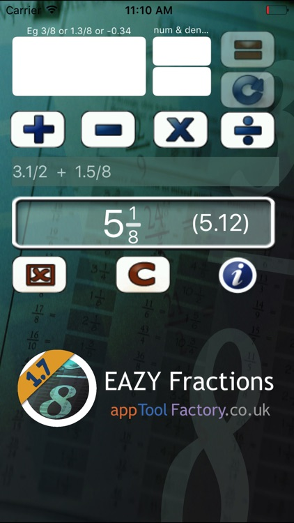 EAZY Fractions