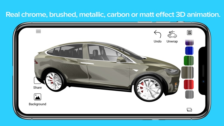 Car Wrapper 3D: cars and films screenshot-3