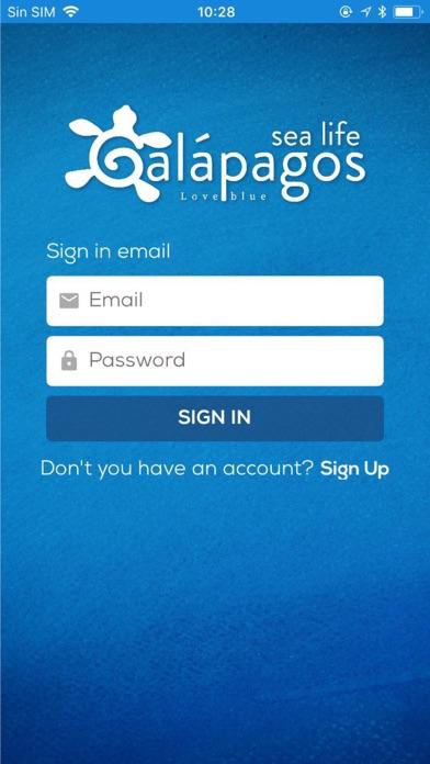 Galapagos Sea Life app image