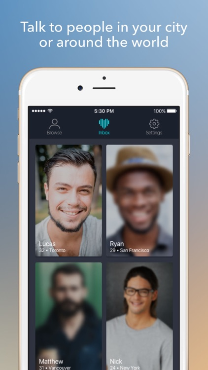 Unveil - Blind Dating App to Talk with Singles screenshot-3