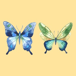 Butterfly Loving Stickers