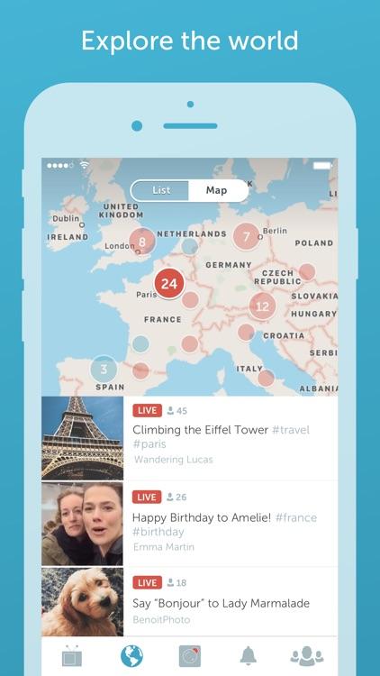 Periscope - Live Video Streaming Around the World screenshot-4