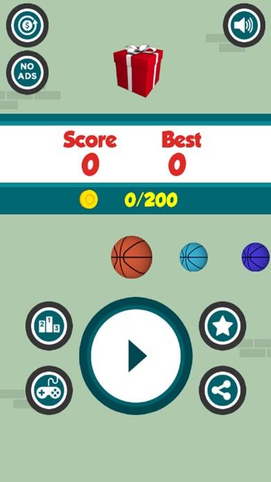 Dunk The Hoops - Bouncy Ball screenshot four
