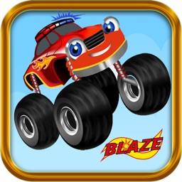 Blaze Monster Truck racing