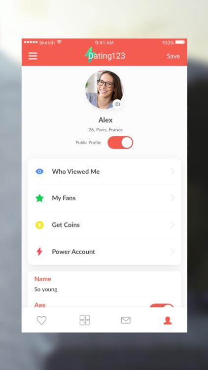 Dating 123-App to Date Singles screenshot-4