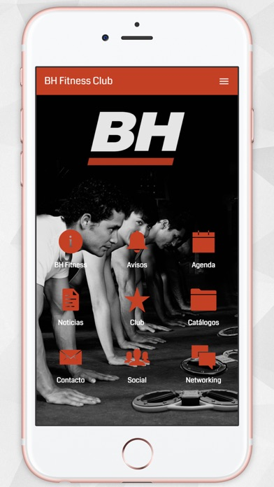BH Fitness Club screenshot one