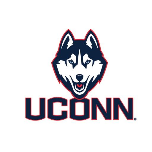 Connecticut Huskies Stickers PLUS