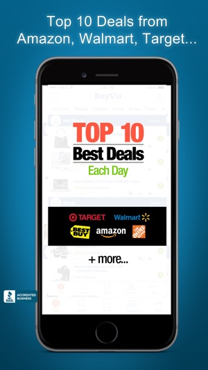 Buyvia best price compare on the app store screenshots fandeluxe Images