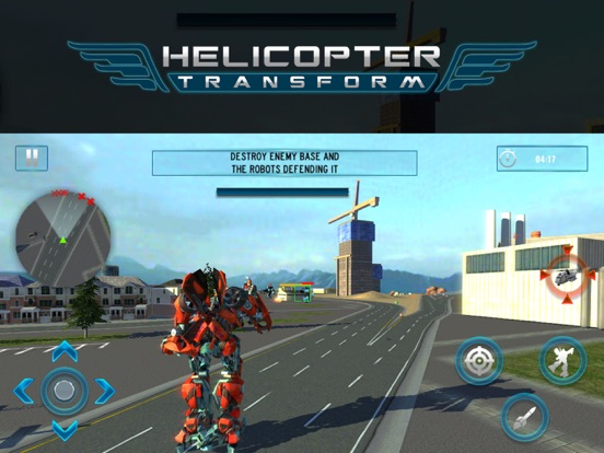 Helicopter War Robot | App Price Drops