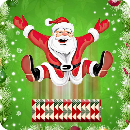 Santa Jump Shot