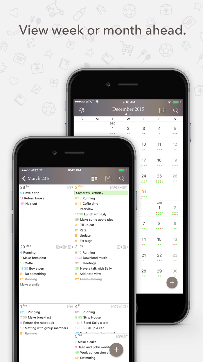 Planner Pro - Daily Calendar Screenshot