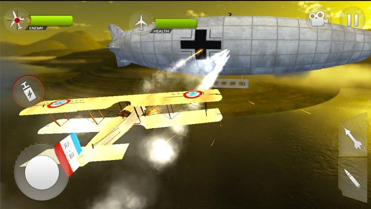 WW2 Airplane Navy Survival screenshot-0