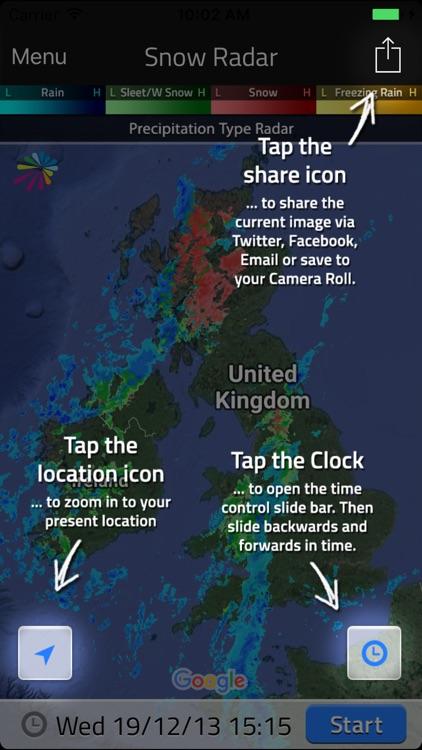 UK Snow Radar screenshot-5