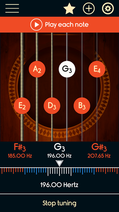 Guitar Tuner Master screenshot four