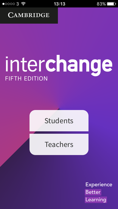 Interchange Classroom App screenshot 1