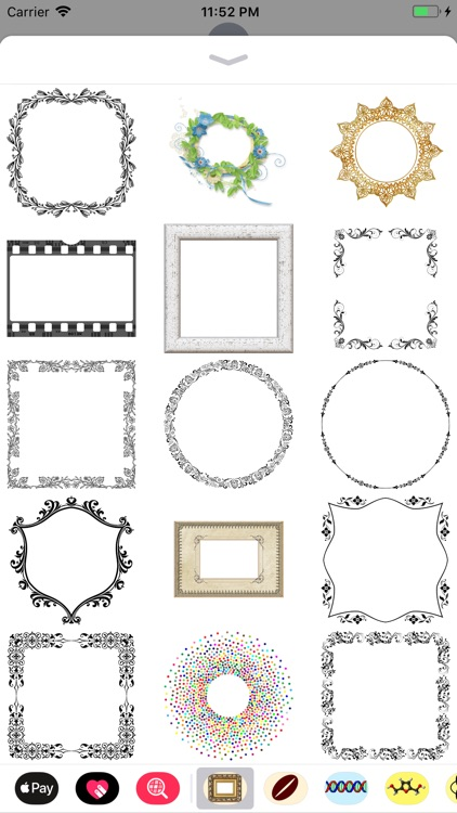 Frame It Stickers