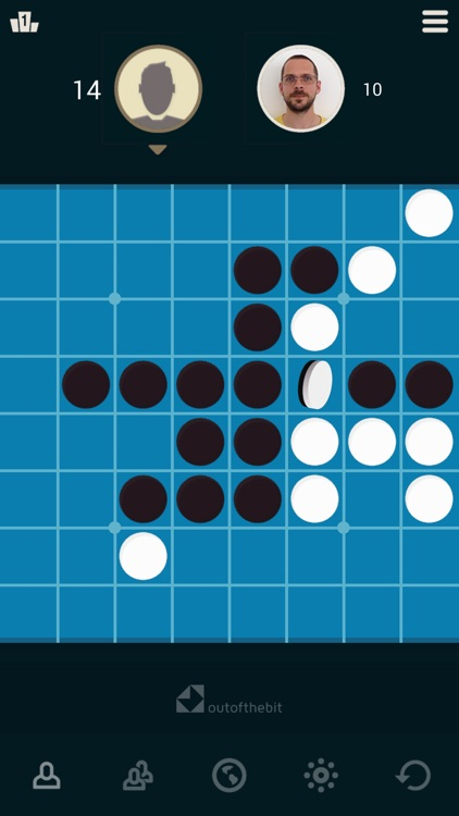 Reversi Turn the pieces & win