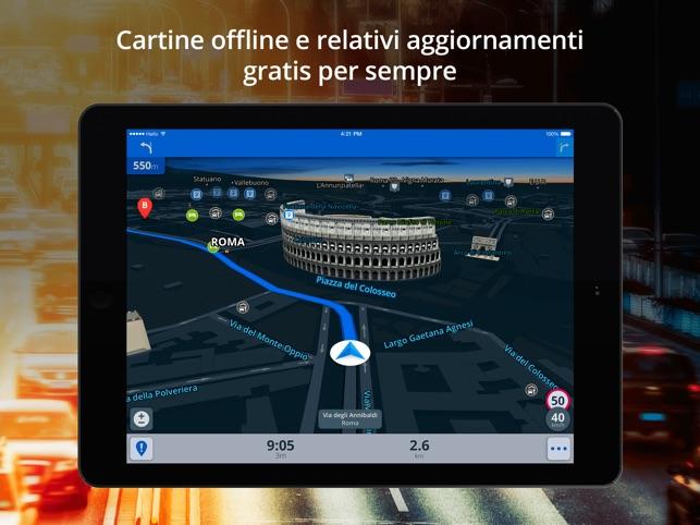 navigatore satellitare gratis per ipad