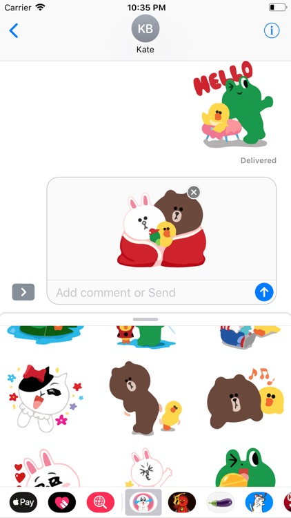 Coco is Naughty Sticker Pack screenshot-3
