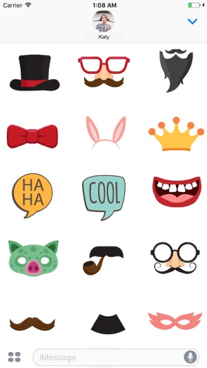 Party photo booth props tune yourself on the app store party photo booth props tune yourself on the app store solutioingenieria Gallery