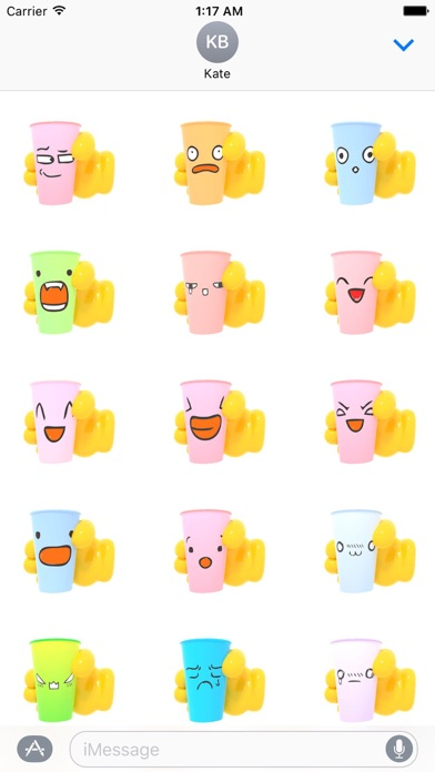 download Animated Plastic Cup Emoji apps 0