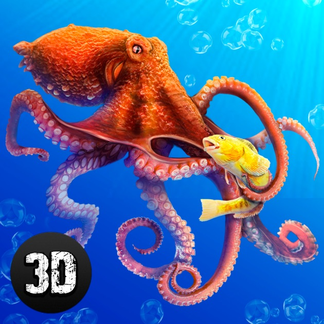 Octopus Subwater Life Simulator on the App Store