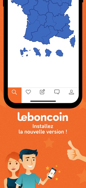 leboncoin dans l app store. Black Bedroom Furniture Sets. Home Design Ideas