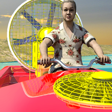 Activities of Granny Power Boat Racing Game