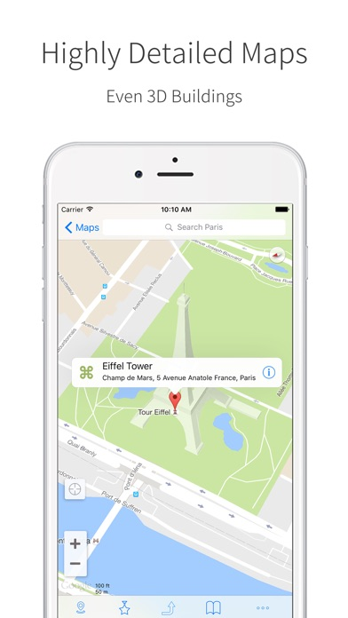 Screenshot for Pocket Maps Lite in Azerbaijan App Store