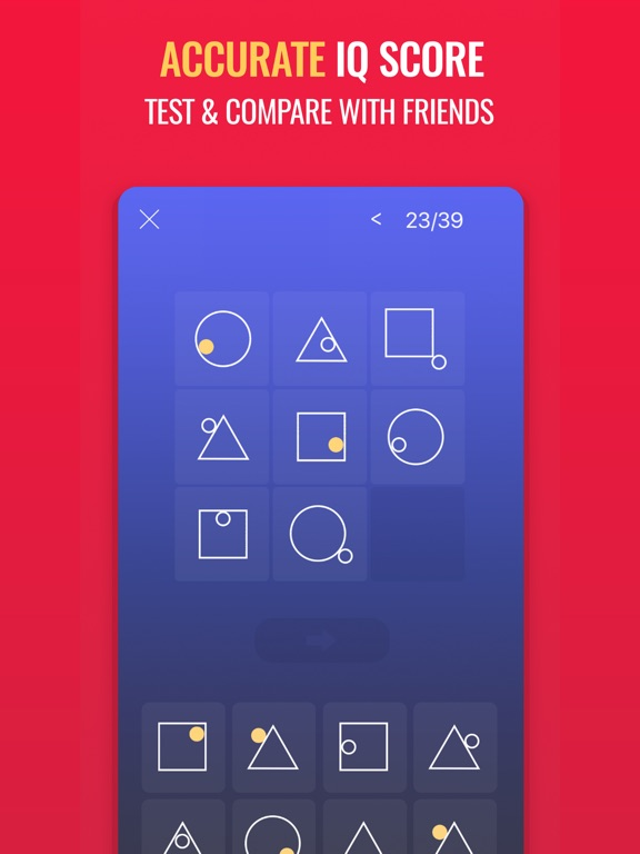Superb IQ - What's My IQ? IPA Cracked for iOS Free Download