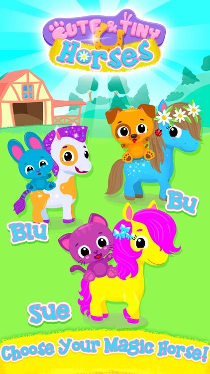 Cute & Tiny Horses screenshot-0
