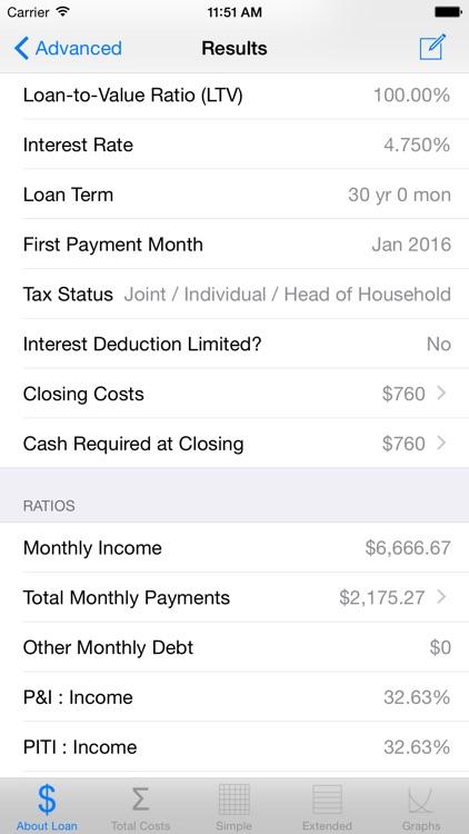 Loan Calc Free (Tax Savings)