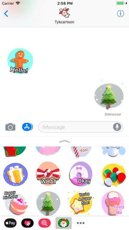 Christmas! Animated Stickers screenshot-3