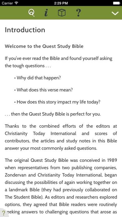 Niv Quest Study Bible review screenshots