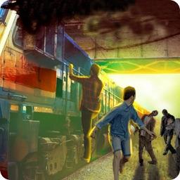 Crazy Zombies Train Attack 3D