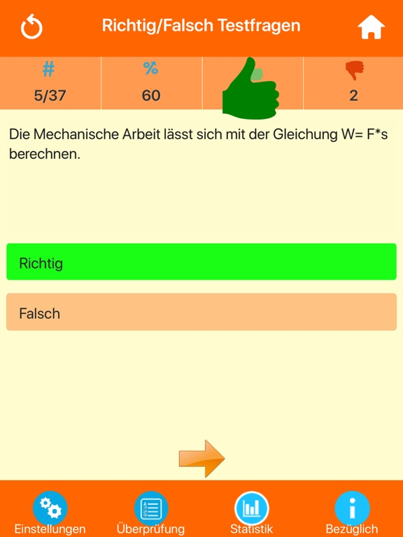 Die Physik Quiz screenshot 9