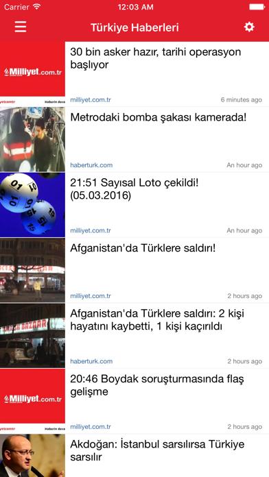 点击获取Türkiye Haberleri - News