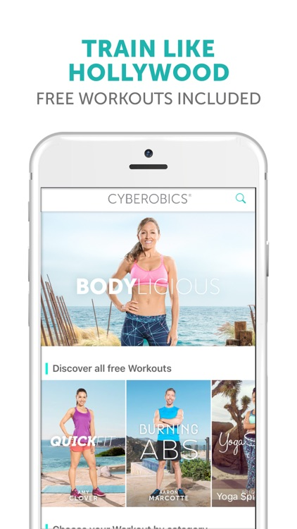 CYBEROBICS® - Fitness Workouts screenshot-0