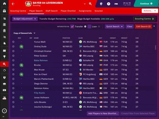 Football Manager 2019 Touch screenshot 3