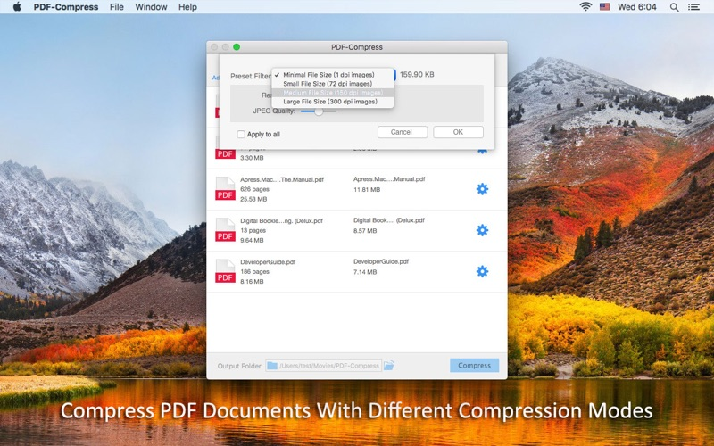 PDF-Compress Screenshot