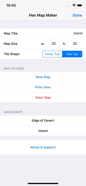 Hex Map Maker on the App Store