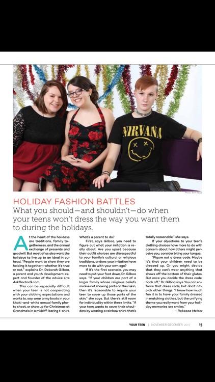 Your Teen Magazine for Parents screenshot-4