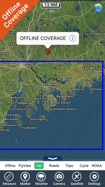 Acadia National Park - GPS Map Navigator screenshot-4