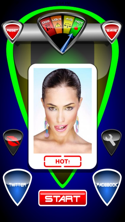 Hot O Meter - photo test prank