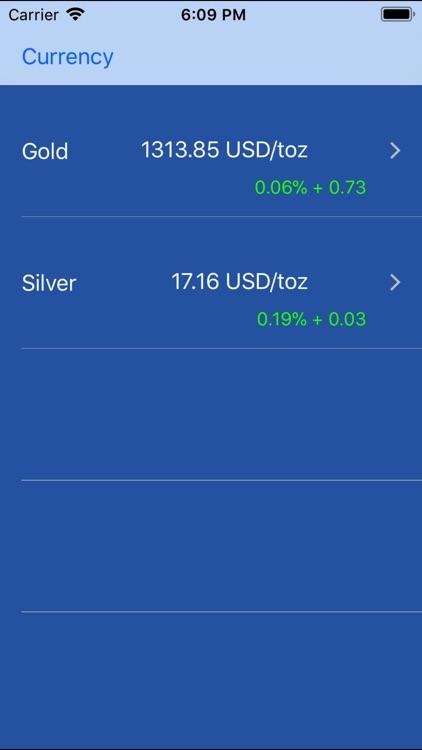 Gold Pro+ - Live silver price