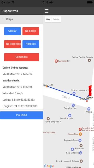 Rastreo GPS Plataforma Tracker screenshot three